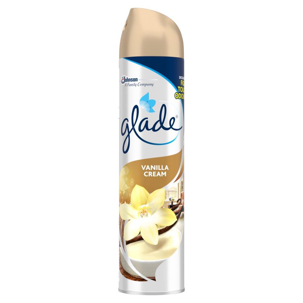 Glade Air Freshener Vanilla Cream 300ml