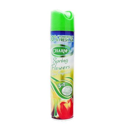 Charm Air Freshener 5 in 1 (Spring Flowers) 240ml