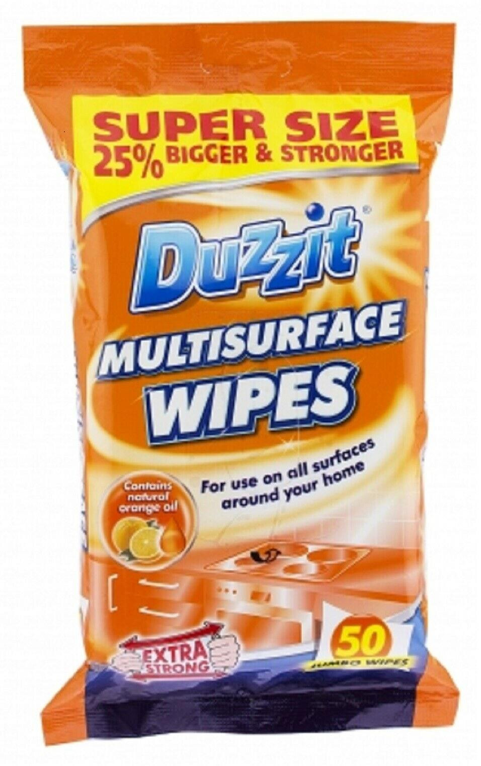Duzzit Multisurface Wipes 50 Pack