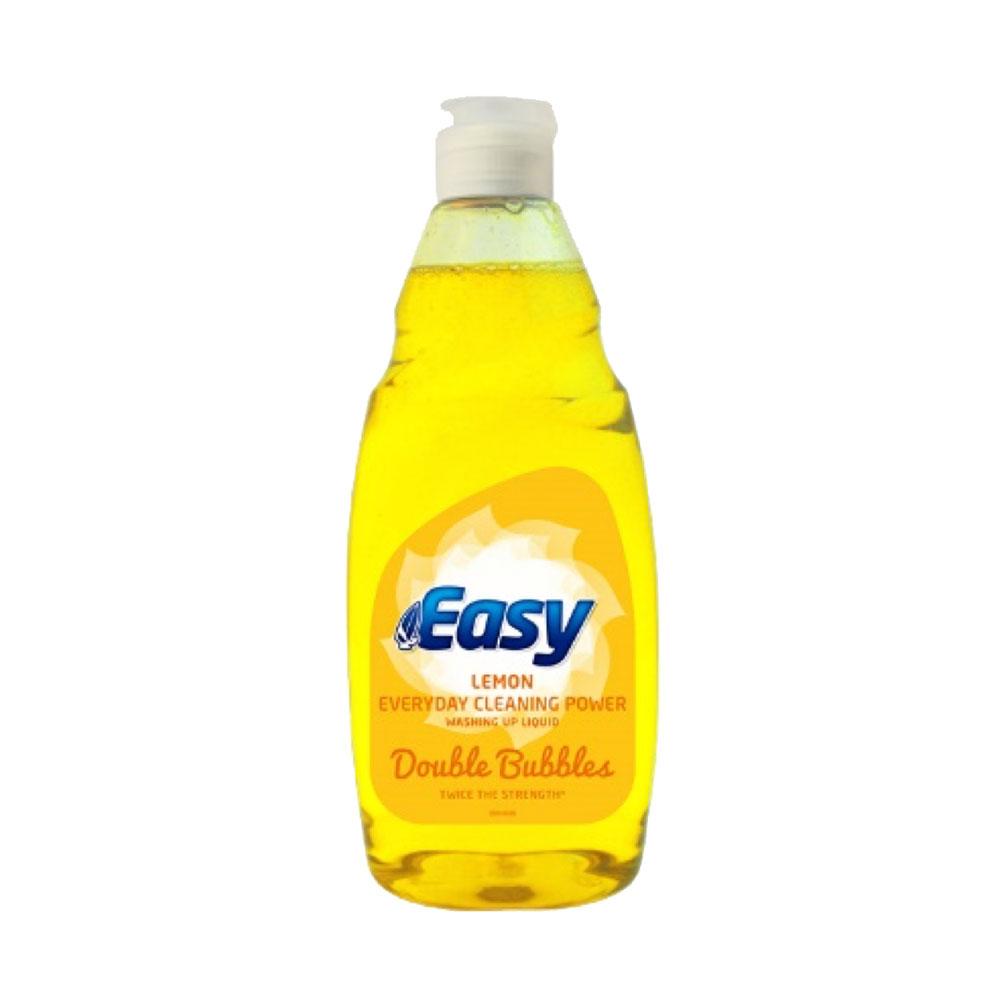 Easy Double Bubbles Washing Up Liquid Lemon