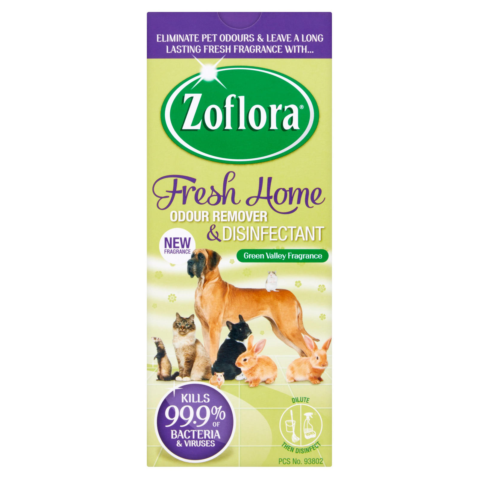 Zoflora Disinfectant for Pets 500ml