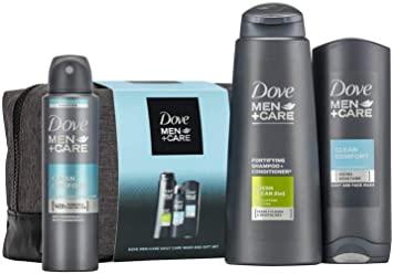Dove Men + Care Washbag Set 4 Piece