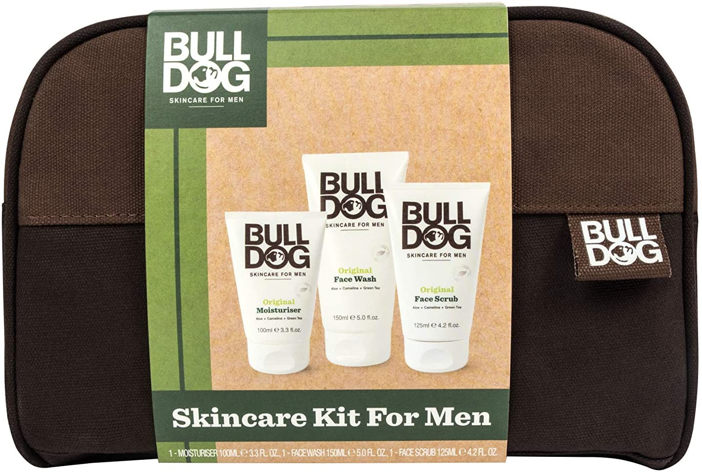 Bulldog Mens Skincare Set 4 Piece