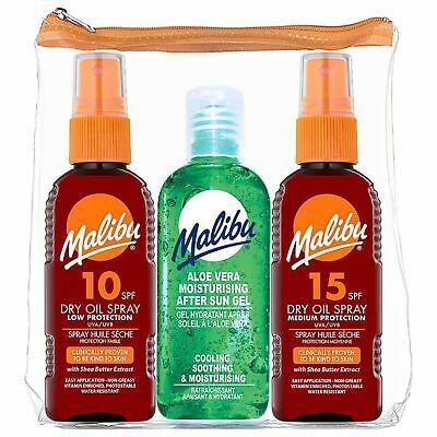 Malibu 3pk (Spf10/ Spf15/ Aftersun) 100ml