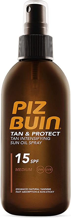 Piz Buin Tan & Pro Oil Spray SPF15 200ml