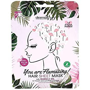 Derma V10 Flamingo Hair Mask