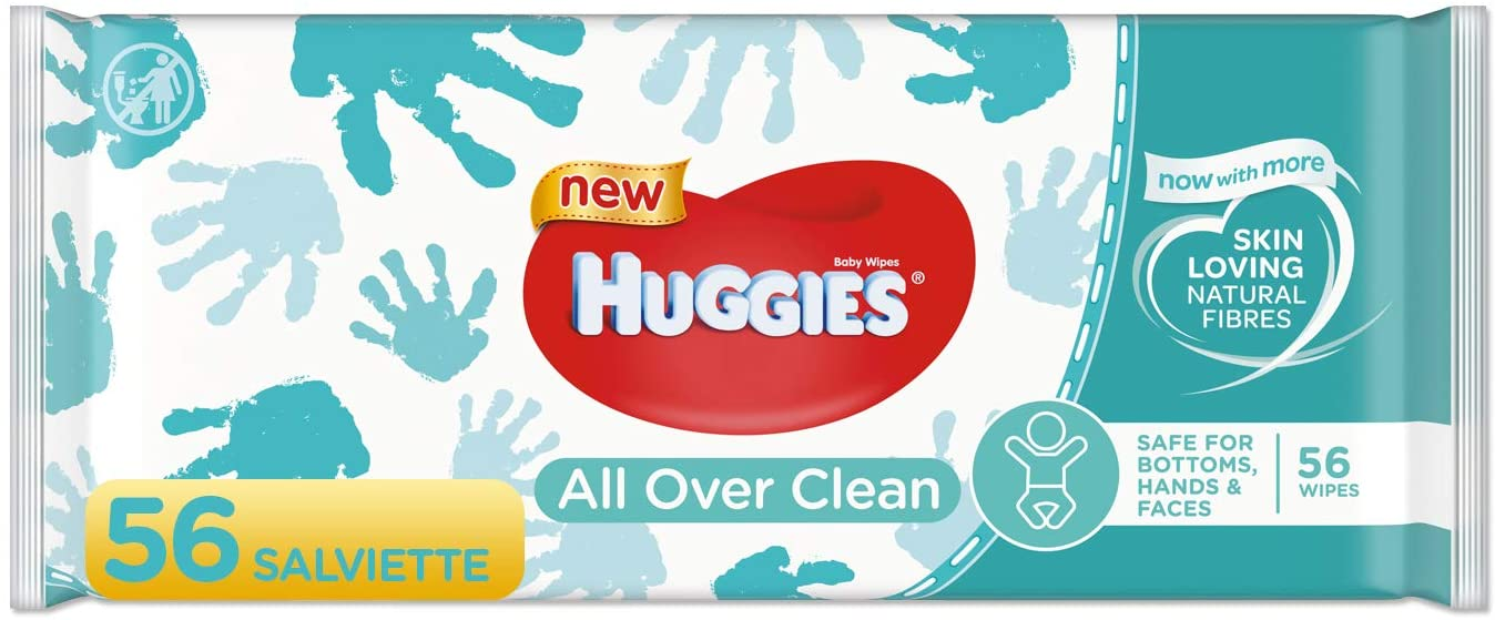Huggies Baby all Over Clean Wipes (56)