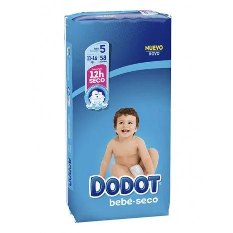 Dodot Absorbent Diapers Size 5 (58pk)