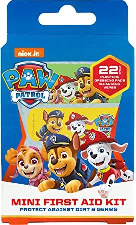 Paw Patrol Mini First Aid Kit (22 Piece)