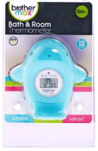 Brother Max Bath & Room Thermometer