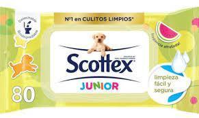 Scottex Junior Toilet Wipes (80)