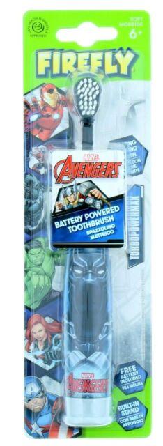 Avengers Turbo Eletric Toothbrush & Toothpaste Set