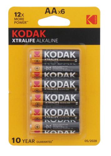 Kodak AA Extralife Alkaine (6pk)