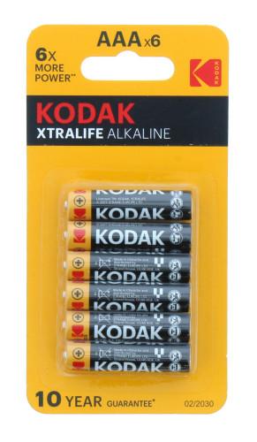 Kodak AAA Extralife Alkaine (6pk)