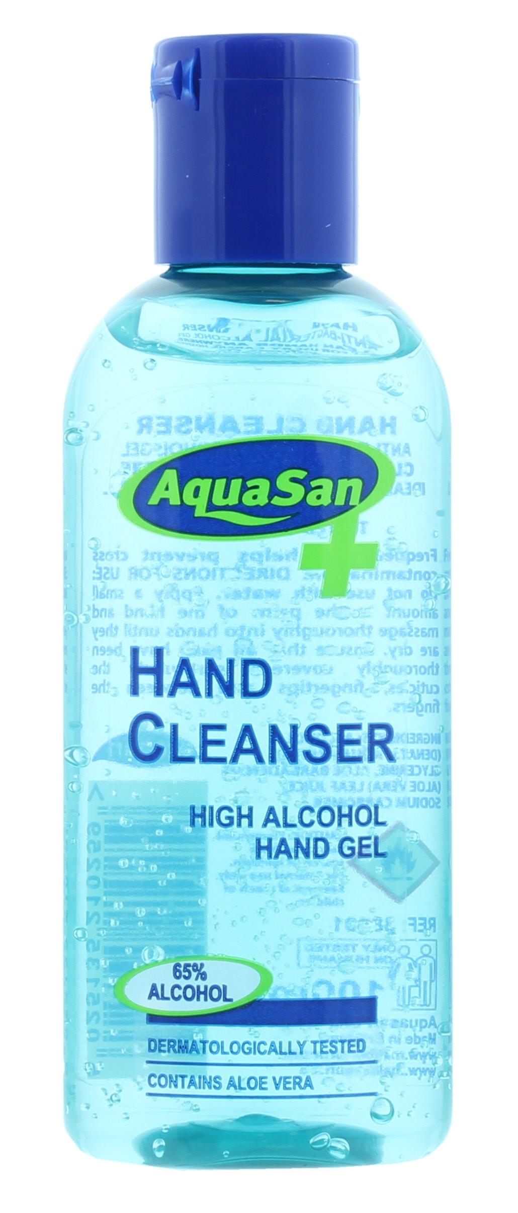Aquasan Hand Sanitiser Antibac 65% 100ml