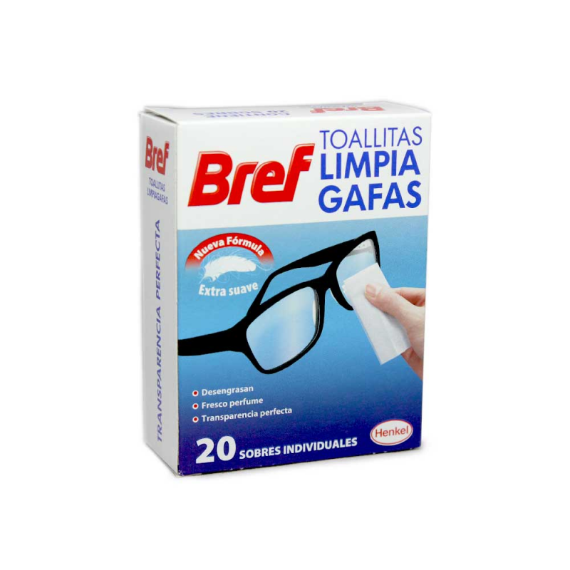 Bref Cleaning Wipes for Glasses (20)