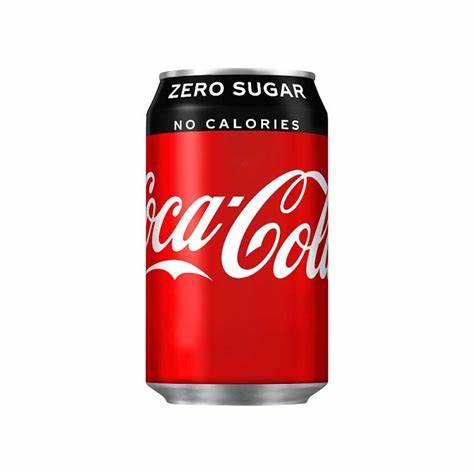 Coca Cola Zero Can 33cl