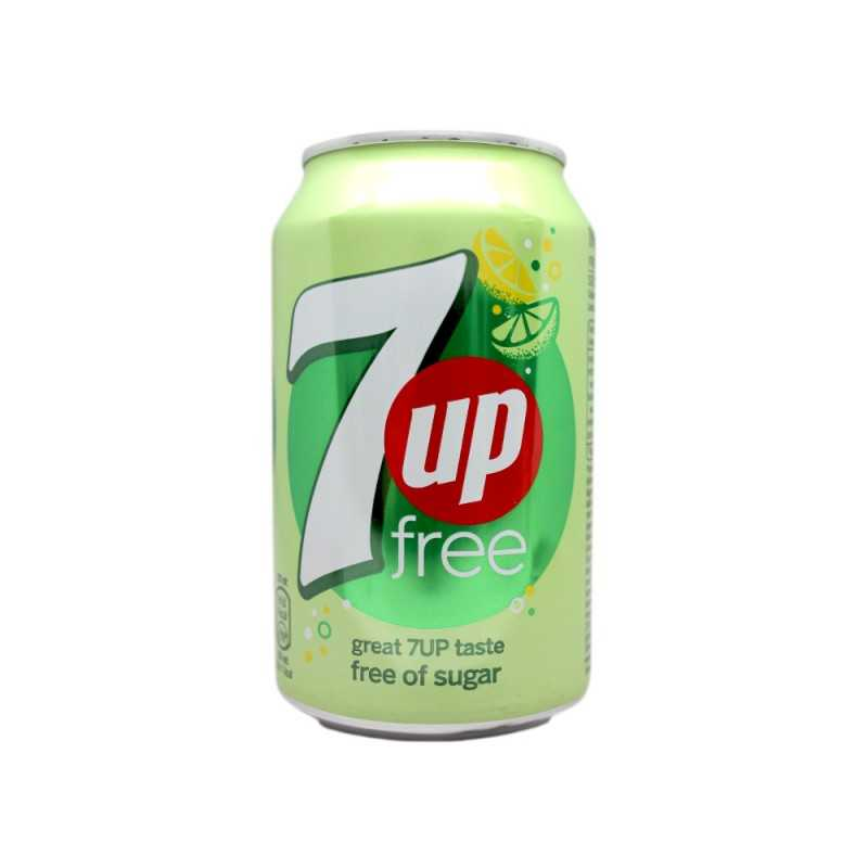 7Up Light Can 33cl