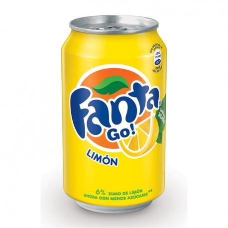 Fanta Lemon Can 33cl
