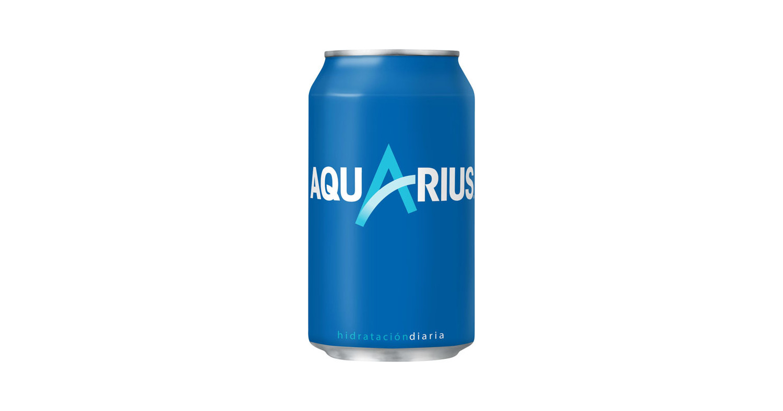 Aquarius Lemon Can 33cl