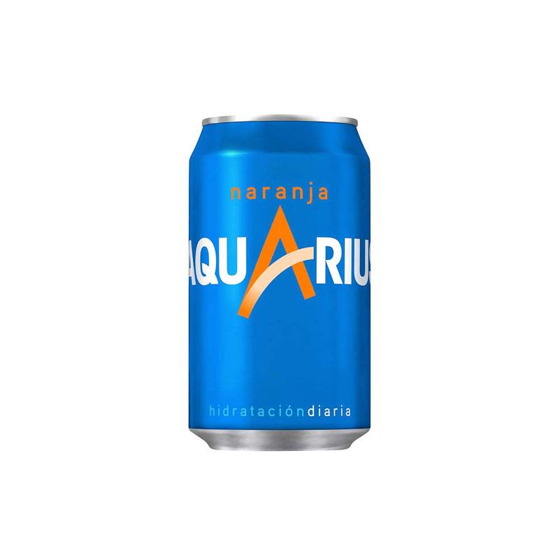 Aquarius Orange  Can 33cl