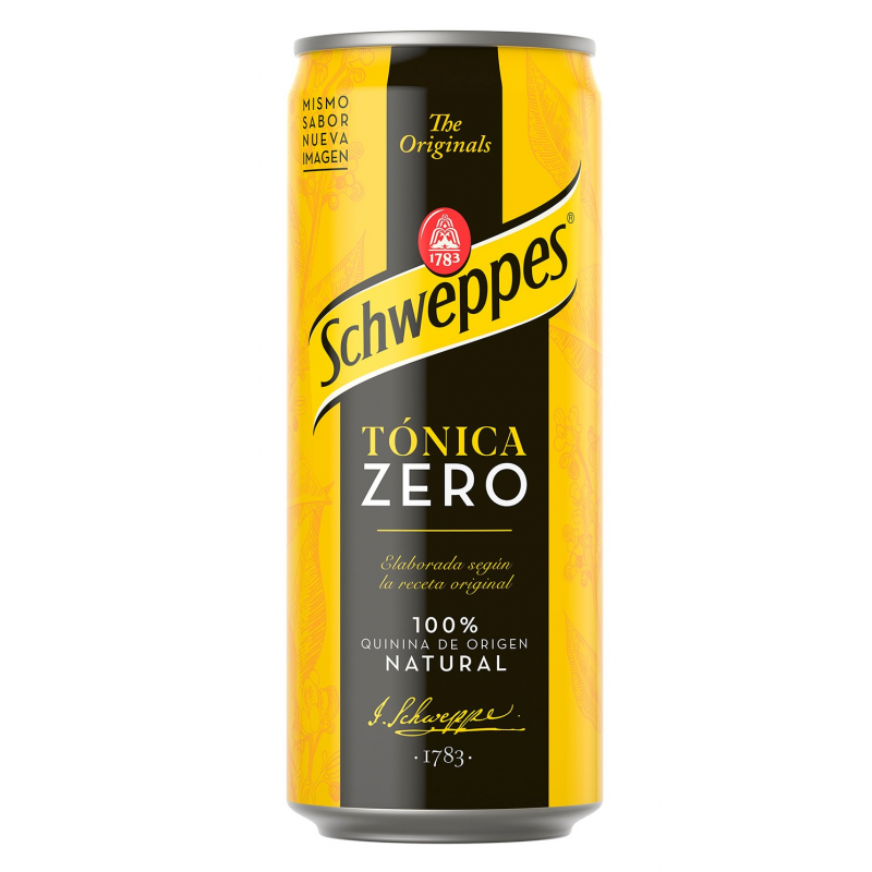 Schweppes Tonic Zero Can 33cl