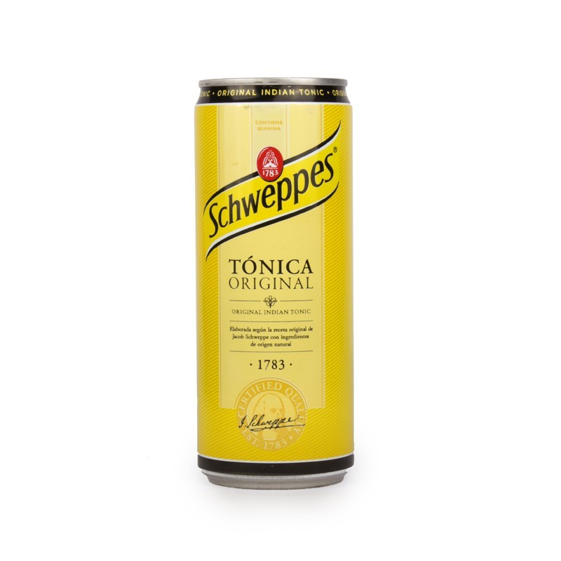 Schweppes Tonic Can 33cl