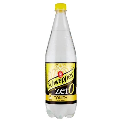Schweppes Tonic Water Zero Bottle 1L