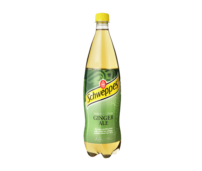 Schweppes Ginger Ale Bottle 1L