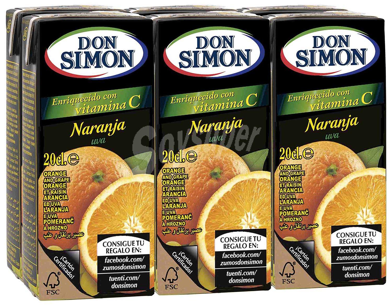 Don Simon Orange Juice  6 x 200ml