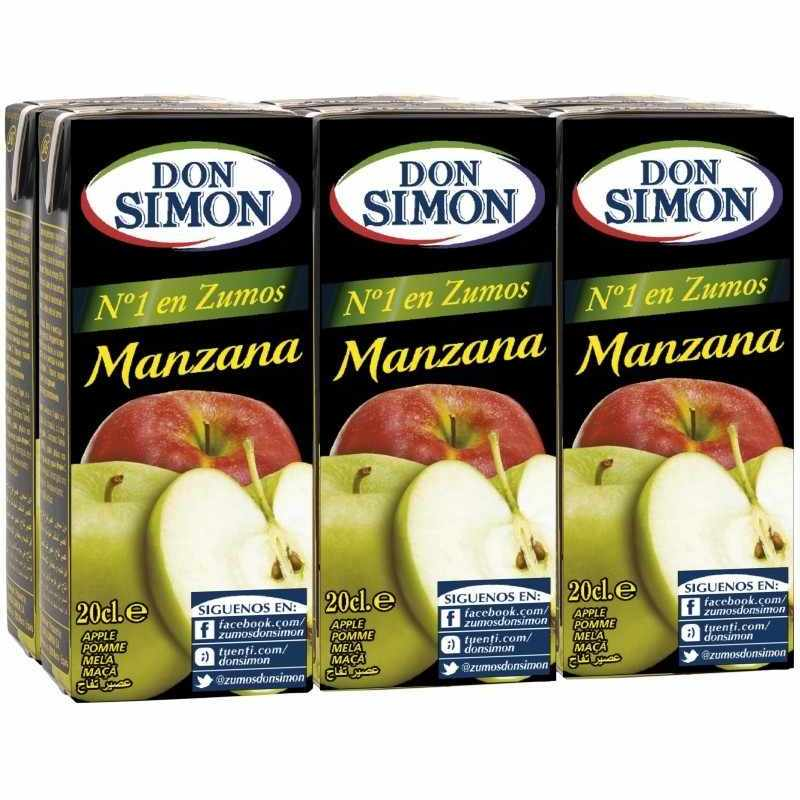 Don Simon Apple Juice 6 x 200ml