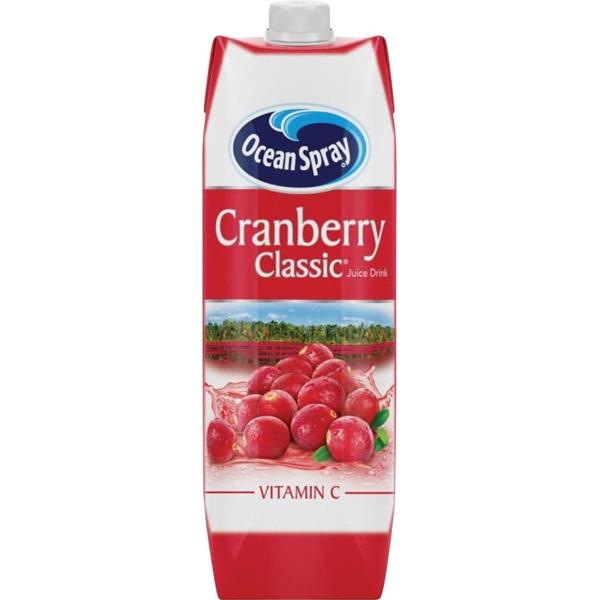Ocean Spray Cranberry Juice 1L