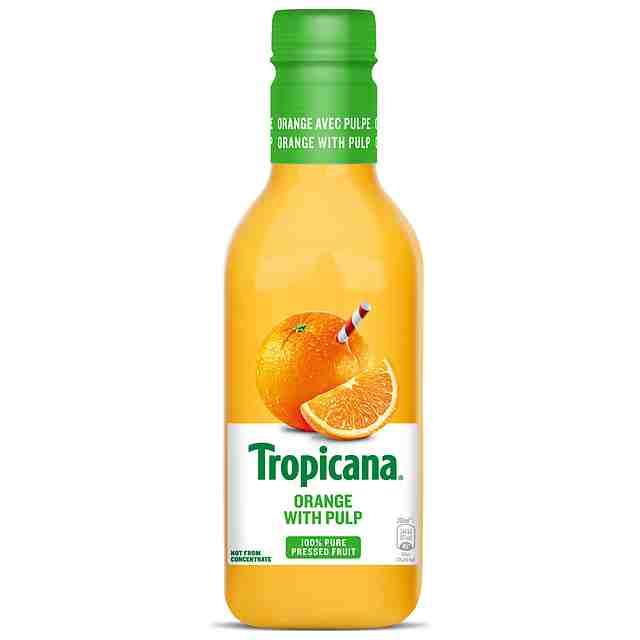 Tropicana Orange Juice With Pulp 900ml