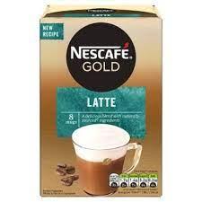 Nescafe Gold Latte 8 x 14g