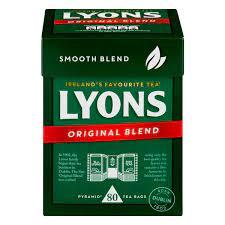 Lyons Original Blend Tea Bags 80 Pack