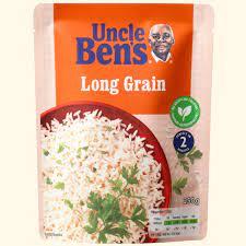 Uncle Bens Long Grain Rice 250g