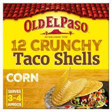 Old El Paso Crunchy Taco Shells 156g