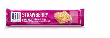 Hills Strawberry Creams 150g