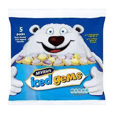 McVities Iced Gems x 5