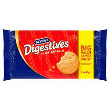 McVities Digestive Twin Pack, 2 x 400g