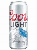 Coors Light Can 50cl