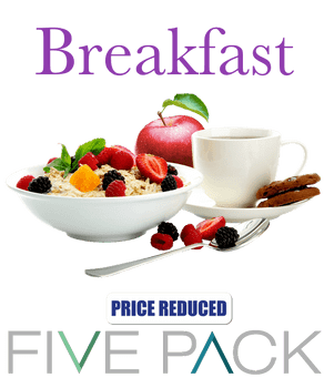 5 Pack Breakfast
