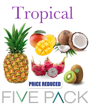 5 Pack Tropical