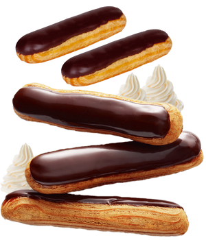 Chocolate Eclair Recipe Pack