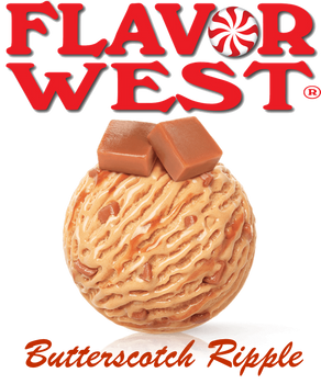 Flavor West Butterscotch Ripple