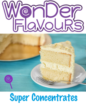 Wonder Flavours Fluffy White Cake