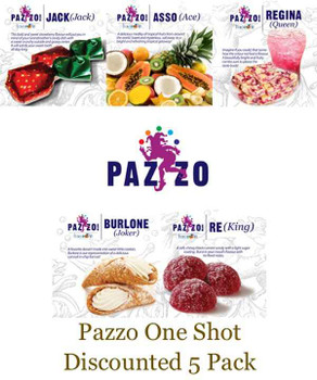 Pazzo One Shot Discounted 5 Pack