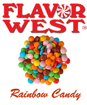Flavor West Rainbow Candy