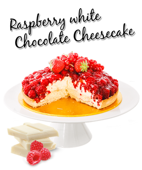 White Chocolate and Raspberry Cheesecake MAY 2019 Winner