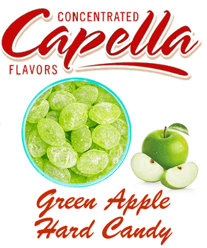 CAPELLA Green Apple Hard Candy
